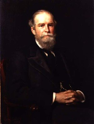 Reproduction oil paintings - John Maler Collier - Portrait of Sir John Lubbock (1834-1913), 1st Baron Avebury