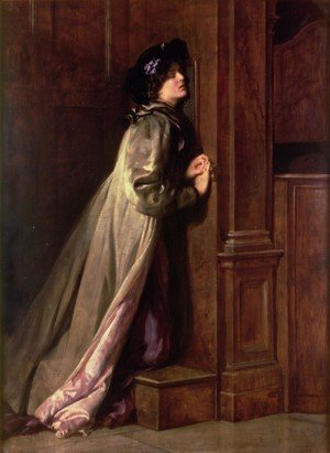 Reproduction oil paintings - John Maler Collier - The Sinner, 1904