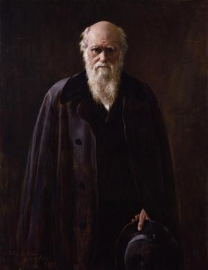 John Maler Collier reproductions - Portrait of Charles Darwin (1809-1882) 1883