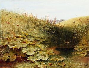 Naturalism painting reproductions: A Quiet Dell
