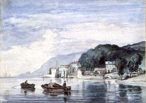 Reproduction oil paintings - William Collins - Salcombe, Devonshire