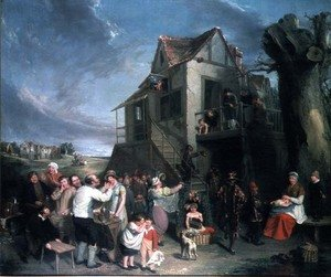 Reproduction oil paintings - William Collins - May Day