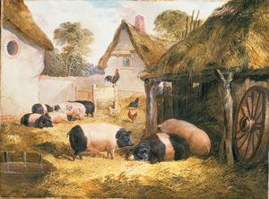 Reproduction oil paintings - William Collins - Cottage Hospitality