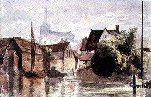 Reproduction oil paintings - William Collins - Studies of English Scenery 3