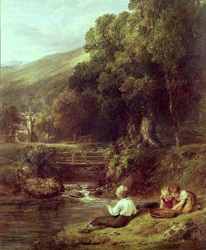 Reproduction oil paintings - William Collins - Borrowdale, c.1821