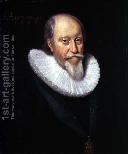 John Erskine, 2nd Earl of Mar (c.1562-1634), 1626 by Adam de Colone - Reproduction Oil Painting