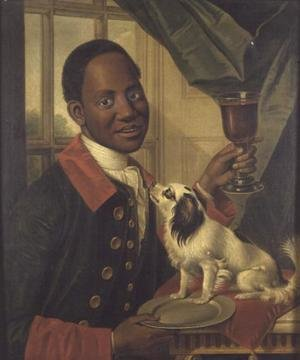 Famous paintings of Black Art: A Black Servant  c.1770