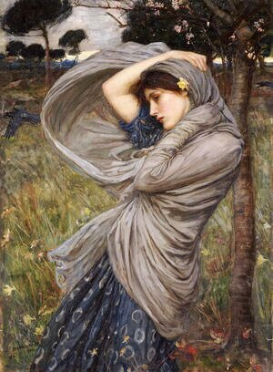 Famous paintings of People: Boreas  1903