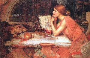 Reproduction oil paintings - Waterhouse - Circe (The Sorceress)  1911