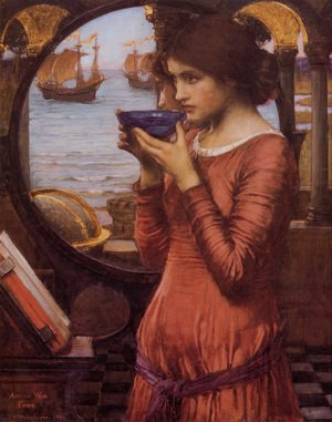 Reproduction oil paintings - Waterhouse - Destiny  1900