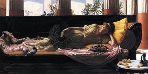 Famous paintings of Fans: Dolce Far Niente  1880
