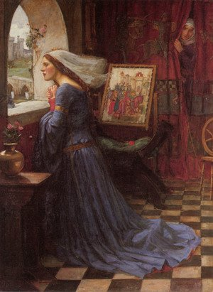 Reproduction oil paintings - Waterhouse - Fair Rosamund  1917