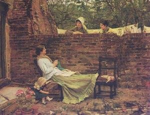 Reproduction oil paintings - Waterhouse - Good Neighbours  1885