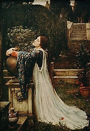 Reproduction oil paintings - Waterhouse - Isabella and the Pot of Basil  1907