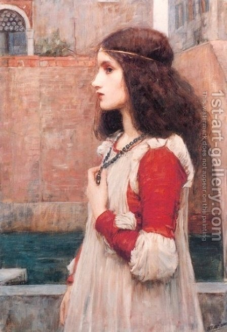 Juliet  1898 by Waterhouse - Reproduction Oil Painting