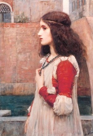 Reproduction oil paintings - Waterhouse - Juliet  1898