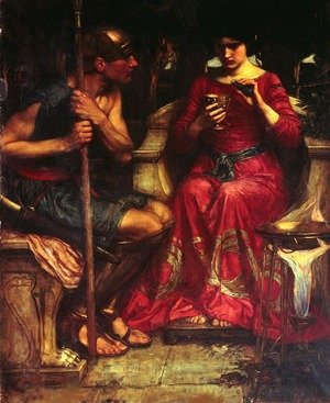 Reproduction oil paintings - Waterhouse - Jason and Medea (1907