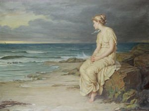 Reproduction oil paintings - Waterhouse - Miranda  1875