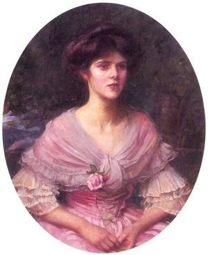 Reproduction oil paintings - Waterhouse - Mrs A. P. Henderson  1909