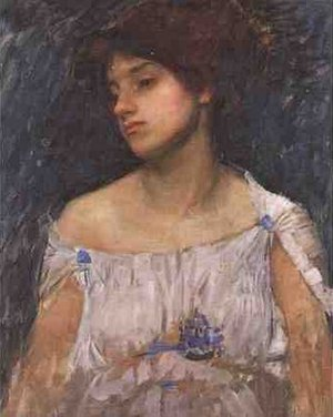 Reproduction oil paintings - Waterhouse - Phyllis