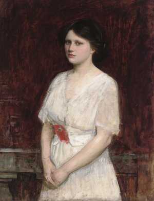 Reproduction oil paintings - Waterhouse - Portrait of Claire Kenworthy