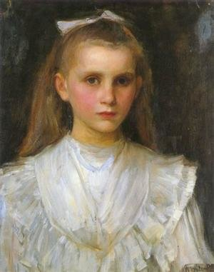Reproduction oil paintings - Waterhouse - Portrait of a Young Girl