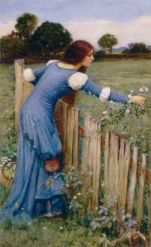 Reproduction oil paintings - Waterhouse - Spring  The Flower Picker 1900