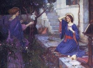 Famous paintings of Angels: The Annunciation  1914