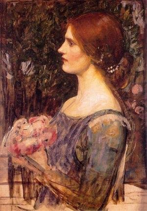 Reproduction oil paintings - Waterhouse - The Bouquet  1908