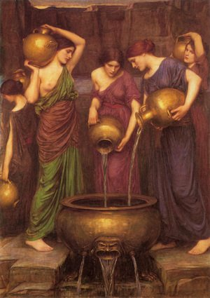 Reproduction oil paintings - Waterhouse - The Danaides  1904