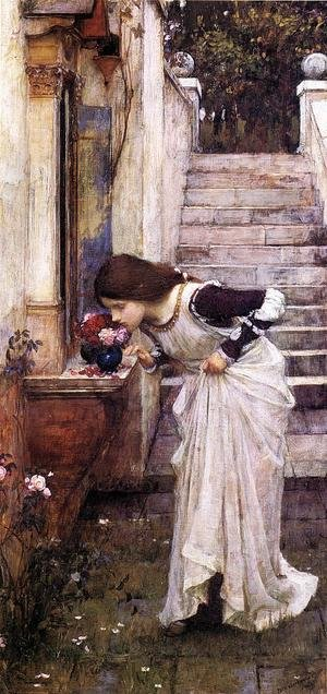 Reproduction oil paintings - Waterhouse - The Shrine  1895