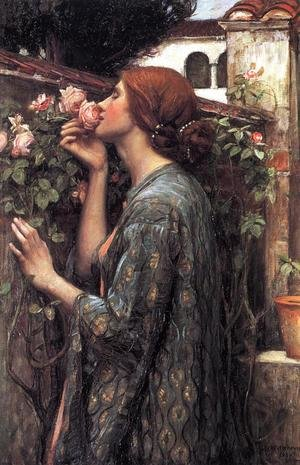 Reproduction oil paintings - Waterhouse - The Soul of the Rose  1908