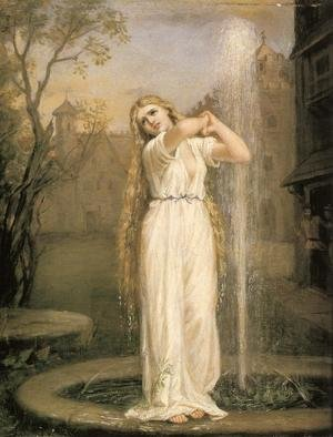 Reproduction oil paintings - Waterhouse - Undine  1872