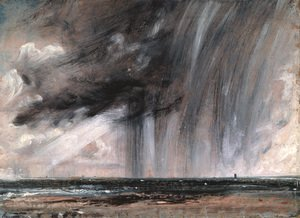 Reproduction oil paintings - John Constable - Rainstorm over the Sea, c.1824-28
