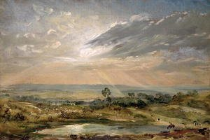 Reproduction oil paintings - John Constable - Branch Hill Pond, Hampstead