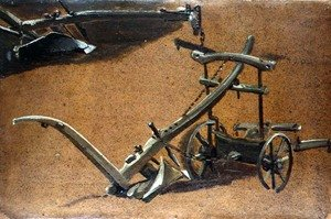 Reproduction oil paintings - John Constable - Study of two ploughs