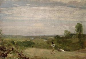 Reproduction oil paintings - John Constable - Summer Morning  Dedham from Langham