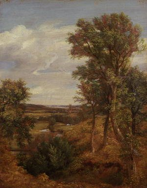 Reproduction oil paintings - John Constable - Dedham Vale, 1802
