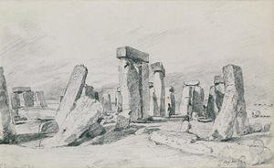 Reproduction oil paintings - John Constable - Stonehenge, Wiltshire, 1820