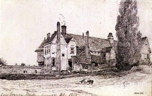 Reproduction oil paintings - John Constable - Overbury Hall, Suffolk, 1815