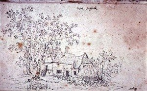 Reproduction oil paintings - John Constable - Cottage at Caple, Suffolk