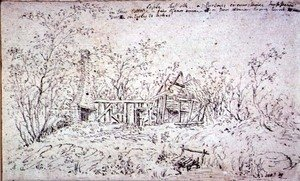 Reproduction oil paintings - John Constable - Cottage at East Bergholt 3