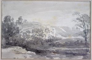 Reproduction oil paintings - John Constable - A View in Derbyshire