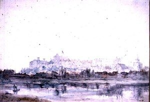 Reproduction oil paintings - John Constable - Windsor Castle from the River 2