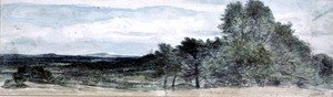 Reproduction oil paintings - John Constable - A View at Hursley, Hampshire
