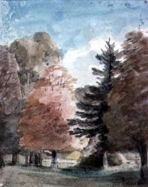 Reproduction oil paintings - John Constable - Study of Trees in a Park