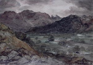 Reproduction oil paintings - John Constable - View in Borrowdale