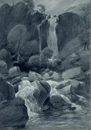 Reproduction oil paintings - John Constable - Taylor Ghyll, Sty Head, Borrowdale, 1806