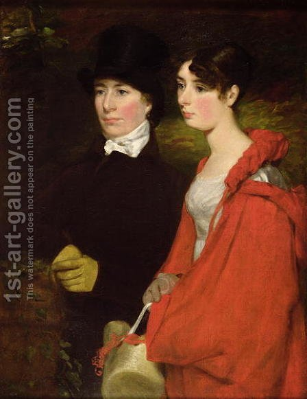 John Constable: Ann and Mary Constable - reproduction oil painting