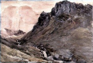 Reproduction oil paintings - John Constable - Eagle Crag, Borrowdale, 1806 2